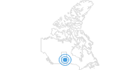 Skigebiet Ski Wapiti Valley in Südost-Saskatchewan: Position auf der Karte