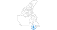 Ski Resort Mount Pakenham in the Northeastern Ontario: Position on map