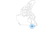 Ski Resort Camp Fortune in Québec City: Position on map