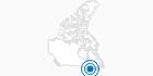 Skigebiet Camp Fortune in Québec City: Position auf der Karte