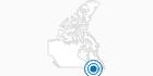 Skigebiet Le Massif in Québec City: Position auf der Karte