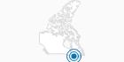 Skigebiet Mont Habitant in Québec City: Position auf der Karte