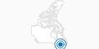 Skigebiet Mont Orignal in Québec City: Position auf der Karte