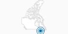 Skigebiet Mont Shefford in Québec City: Position auf der Karte