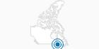 Skigebiet Mont Video in Québec City: Position auf der Karte