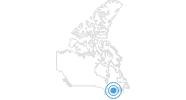 Skigebiet Montjoye in Québec City: Position auf der Karte