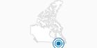 Skigebiet Vallee du Parc in Québec City: Position auf der Karte