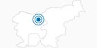 Skigebiet Krvavec in Krvavec: Position auf der Karte