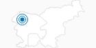Skigebiet Vogel Bohinj in der Region Gorenjska: Position auf der Karte