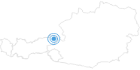 Skigebiet Kirchdorf in Tirol in Kitzbüheler Alpen - St. Johann - Oberndorf - Kirchdorf: Position auf der Karte
