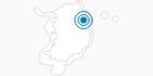 Skigebiet O2 Resort im Taebaek-Gebirge: Position auf der Karte
