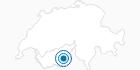 Skigebiet Saas-Balen im Saastal: Position auf der Karte