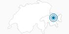 Skigebiet Jakobshorn Davos in Davos Klosters: Position auf der Karte