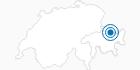 Skigebiet Madrisa Klosters in Davos Klosters: Position auf der Karte