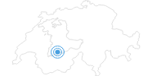 Skigebiet Engstligenalp Adelboden in Adelboden - Frutigen: Position auf der Karte