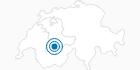 Skigebiet Tschentenalp Adelboden in Adelboden - Frutigen: Position auf der Karte