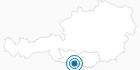 Skigebiet Skilift Hrast in Feistritz an der Gail in Villach-Warmbad / Faaker See / Ossiacher See: Position auf der Karte