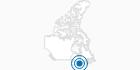 Skigebiet Craigleith Ski Club in Südost-Ontario: Position auf der Karte