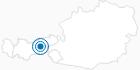 Skigebiet Hüttegglift Weerberg in der Silberregion Karwendel: Position auf der Karte