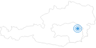 Skigebiet Almblicklifte Strallegg Joglland in der Oststeiermark: Position auf der Karte