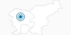 Ski Resort Cerkno in the Gorenjska region: Position on map