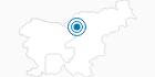 Skigebiet Golte in Krvavec: Position auf der Karte