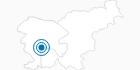 Skigebiet Javornik in der Region Goriska - Smaragdstraße: Position auf der Karte