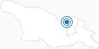 Skigebiet Gudauri in Mzcheta-Mtianeti: Position auf der Karte
