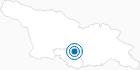 Skigebiet Bakuriani in Samzche-Dschawachetien: Position auf der Karte