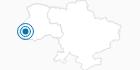 Skigebiet Trostyan Mountain in Lemberg-Lwiw: Position auf der Karte