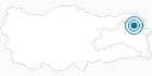 Skigebiet Sarikamis in Ostanatolien: Position auf der Karte