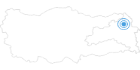 Ski Resort Sarikamis in Eastern Anatolia: Position on map