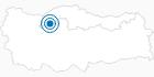 Skigebiet Dorukkaya in der Schwarzmeerregion: Position auf der Karte