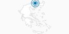 Ski Resort Falakro in Drama: Position on map