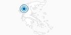 Skigebiet Vasilitsa in Grevena: Position auf der Karte