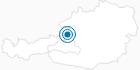 Skigebiet Krispl in Tennengau-Dachstein West: Position auf der Karte