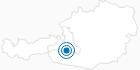 Skigebiet Graukogel - Bad Gastein im Gasteinertal: Position auf der Karte