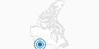 Ski Resort Baldy Mountain Resort in the Kootenay Rockies: Position on map