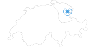 Skigebiet Skilifte Alpsteinblick Gonten im Appenzellerland: Position auf der Karte