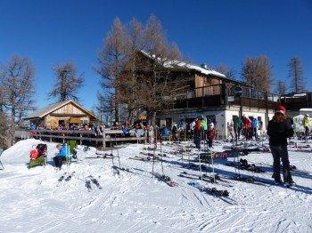 Der Berggasthof Hutterer Höss bietet ein einmaliges Panorama