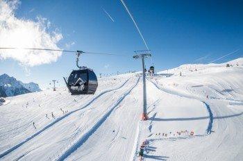 Mit dem Alpenlift Kronplatz gehts hoch hinaus