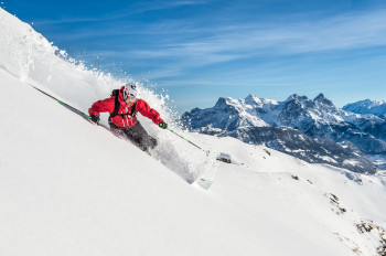 Kitzbühel is also a paradise for freeride fans
