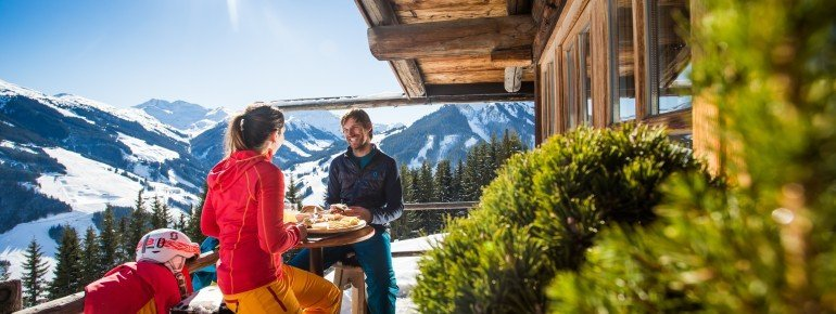 More than 60 mountain huts and restaurants provide delicious food and drink to the guests!