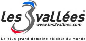 Logo Skigebiet Les 3 Vallees