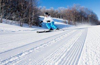 Logo ski resort Mont Blanc Quebec