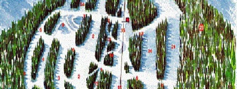 Pistenplan Bear Paw Ski Bowl