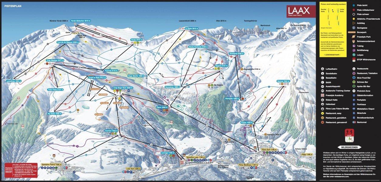Webcams flims laax falera livecams livestreams for Designhotel skigebiet