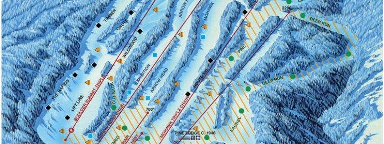 Pistenplan Mohawk Mountain