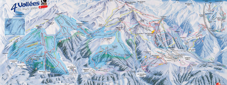 Trail Map 4 Vallees