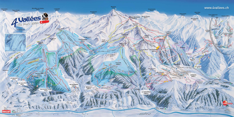 4 Vallees • Ski Holiday • Reviews • Skiing
